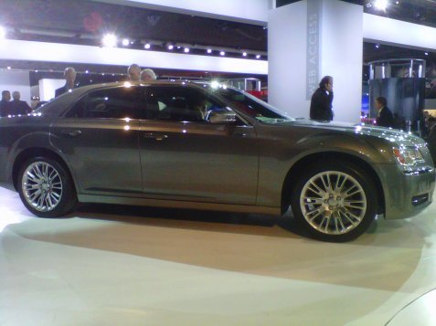Chrysler 300 Detroit Auto Show