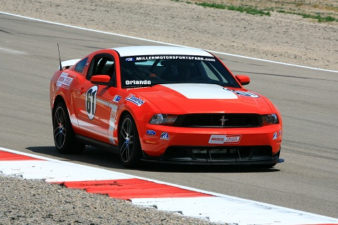 Driving the 2013 ford mustang boss 302 1 mustang boss 302 at miller motorsports freerunsca Choice Image