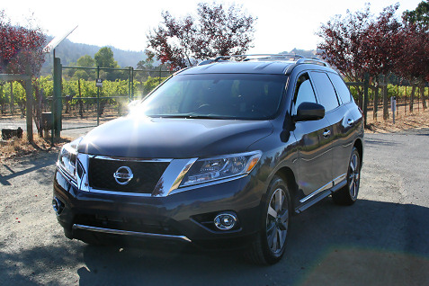 2013 Nissan Pathfinder on San Francisco To Test Drive The All New 2013 Nissan Pathfinder Nissan