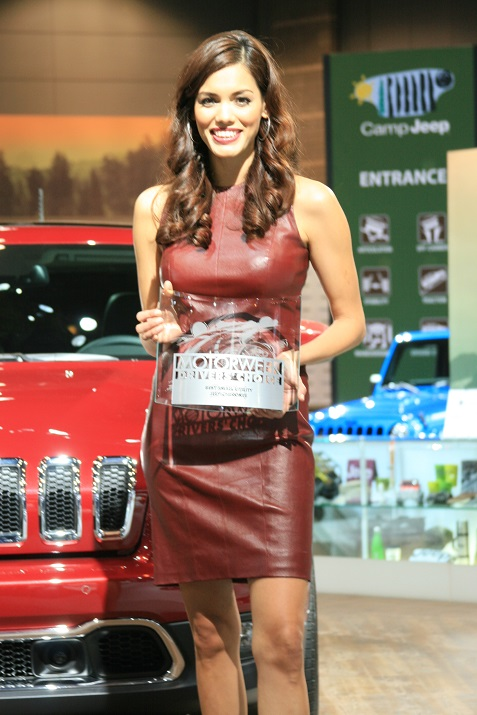 Booth Babes At 2014 Chicago Auto Show