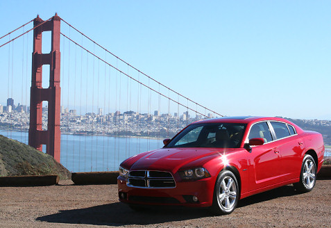 1-2011-dodge-charger-in-san-francisco-by-golden-gate-bridge