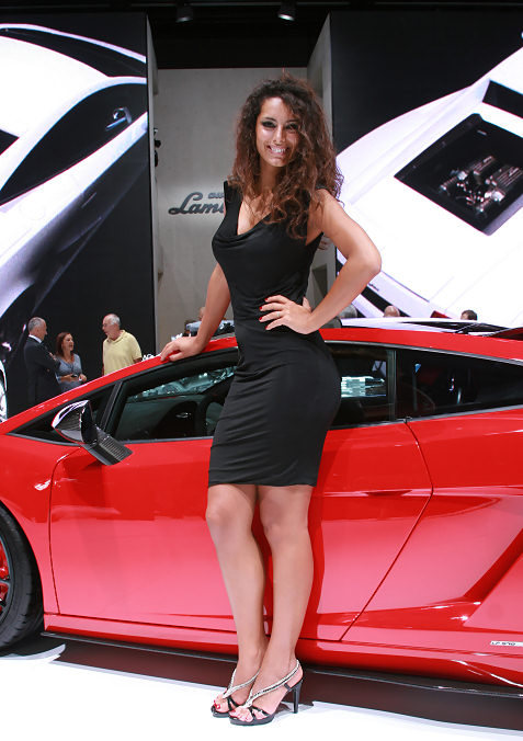 Lamborghini at the Frankfurt Motor Show.