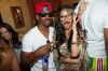 Nicole Scherzinger, formally of The Pussycat Dolls, and Xfactor judge, with Chris Paul of the LA Clippers at TAO Beach