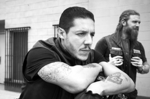 SONS OF ANARCHY: Theo Rossi. CR: James Minchin III / FX