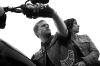 SONS OF ANARCHY: L-R: Charlie Hunnam and Maggie Siff. Cr: James Minchin III / FX