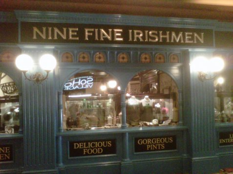 Nine Fine Irishmen.