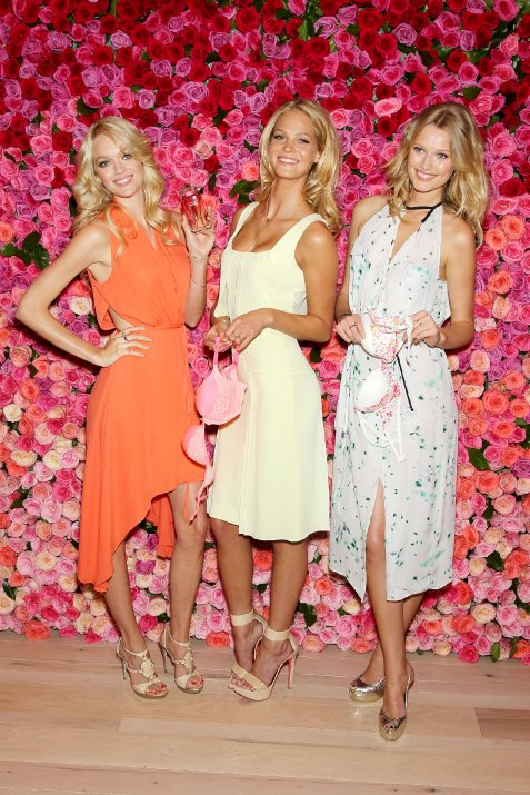 Lindsay Ellingson, Erin Heatherton, Toni Garrn