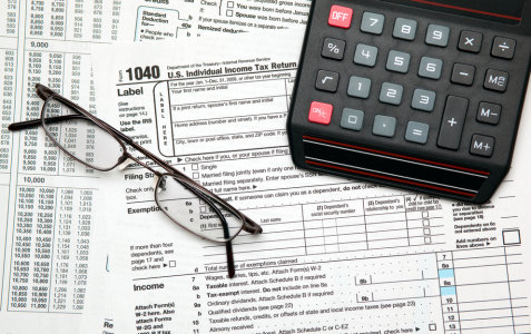 income tax day 1040 form IRS