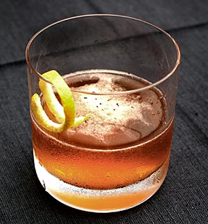the Cognac Sazerac