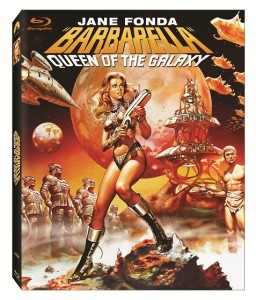 Barbarella box art Jane Fonda