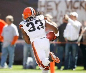 Trent Richardson Browns Facebook 1
