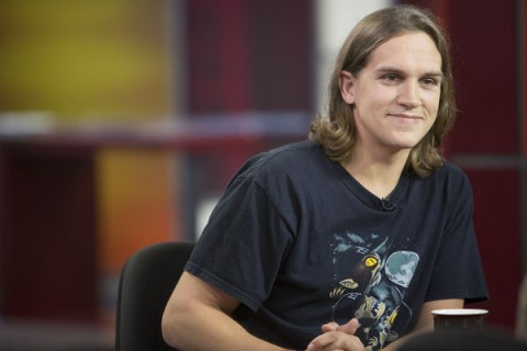 Jason Mewes Visits The Morning Show in Toronto on August 24, 2012