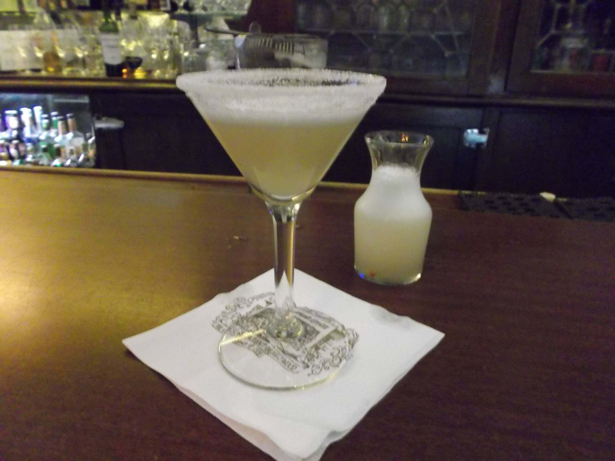 Musso and Frank Sidecar.