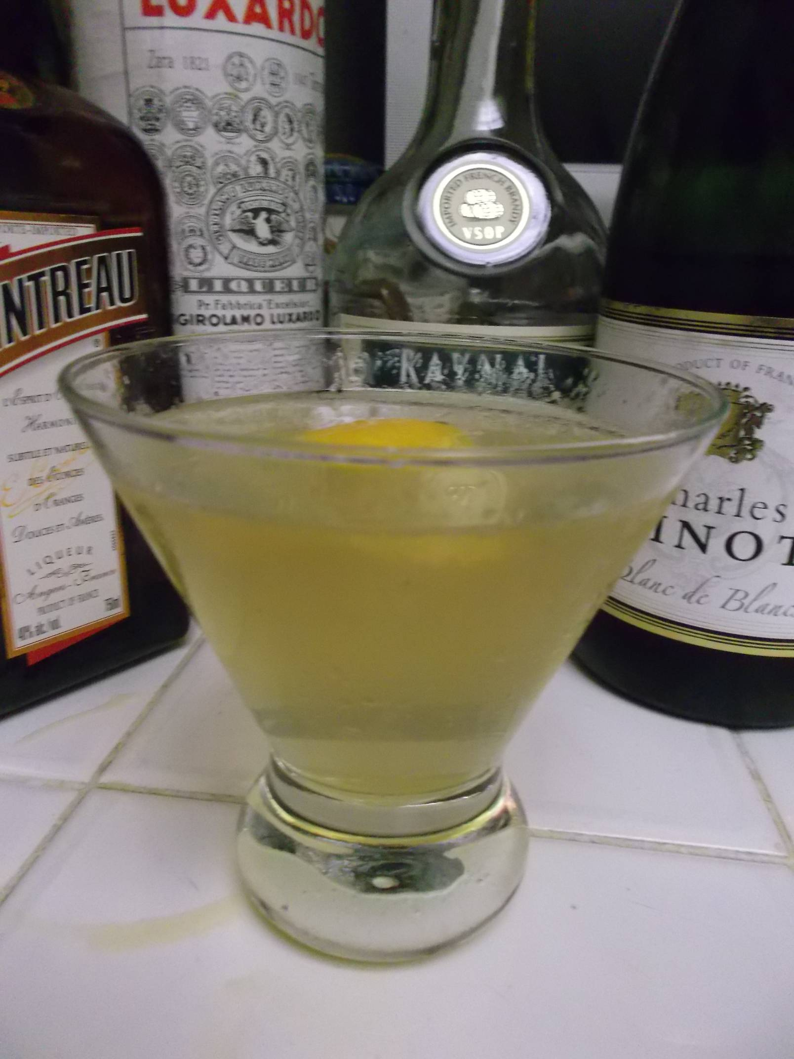 the Ritz Cocktail.