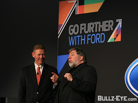 Alan Mulally and Steve Wozniak