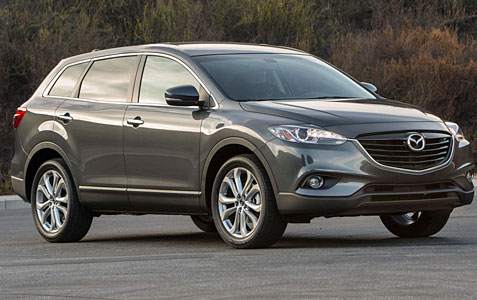 car review 2013 mazda cx 9 grand touring awd. Black Bedroom Furniture Sets. Home Design Ideas