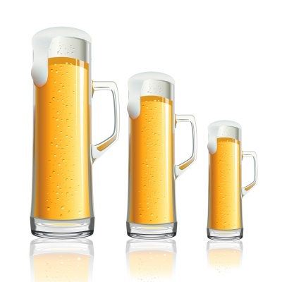 ID-10022670 beer mugs