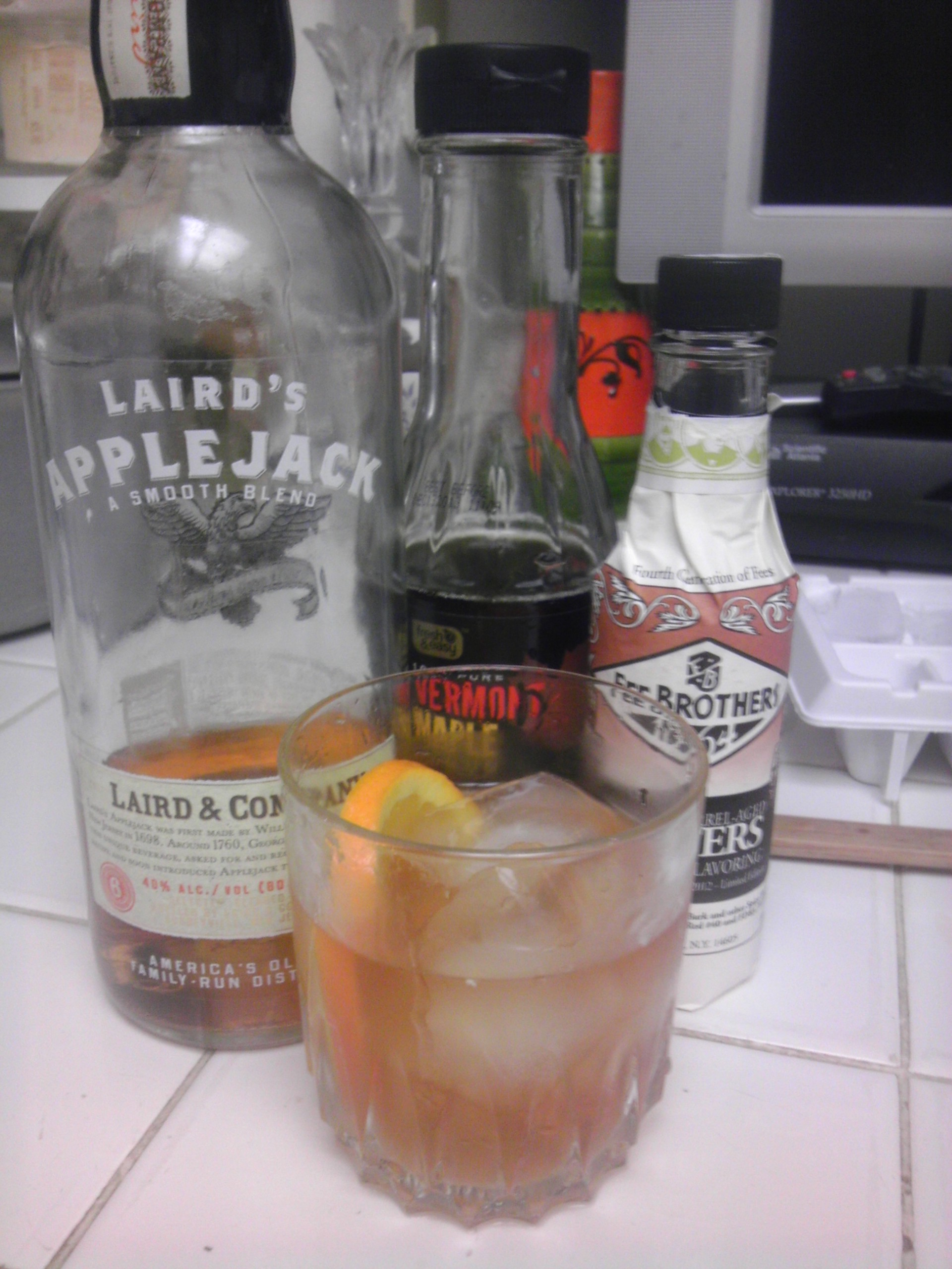 The Applejack Old Fashioned.