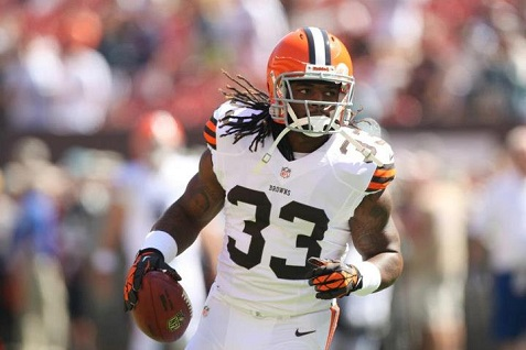 Trent Richardson Browns Facebook 2