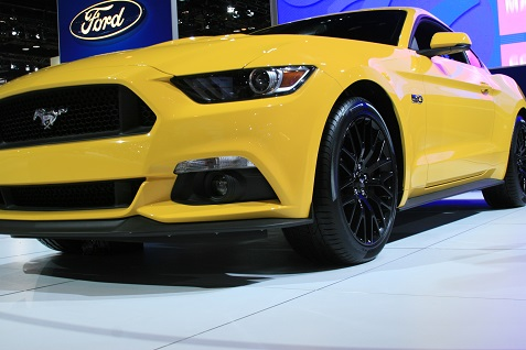 2015 Ford Mustang at Chicago Auto Show 1