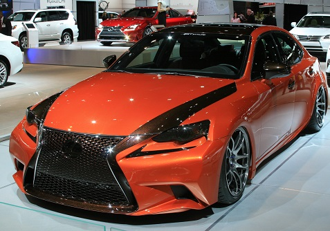 Custom Lexus IS 250 F Sport