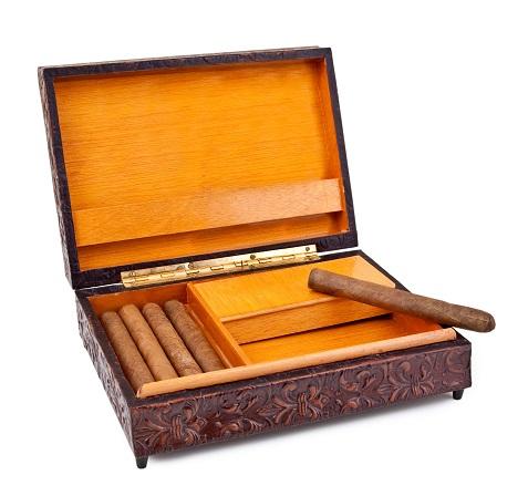 Clásica caja de puros