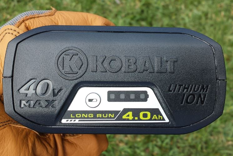 Kobalt Battery