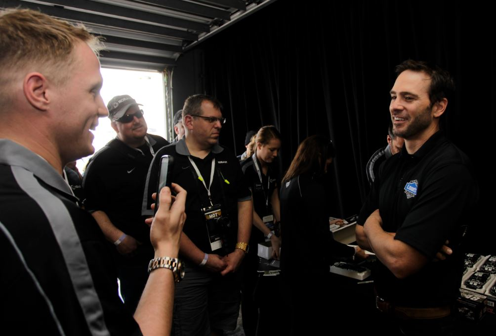 Paul Eide Jimmie Johnson Interview