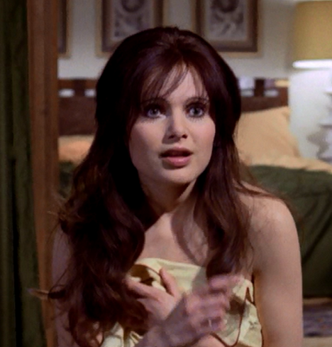 Content - Madeline Smith as Miss Caruso in Live and Let Die
