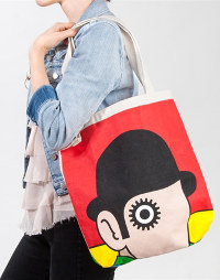 Out of Print Clothing tote bag