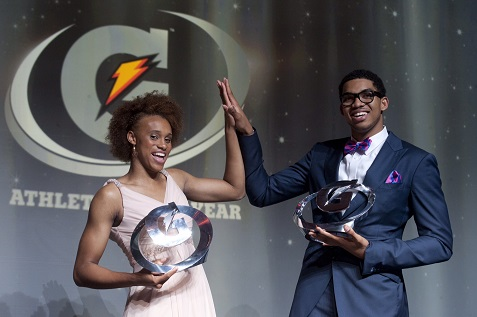 GATORADE ATHLETE OF THE YEAR 2