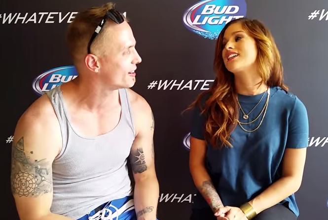 Cassadee Pope Speaks To Paul Eide At Bud Light's Whatever, USA.