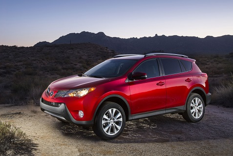 2015 Toyota RAV4 red