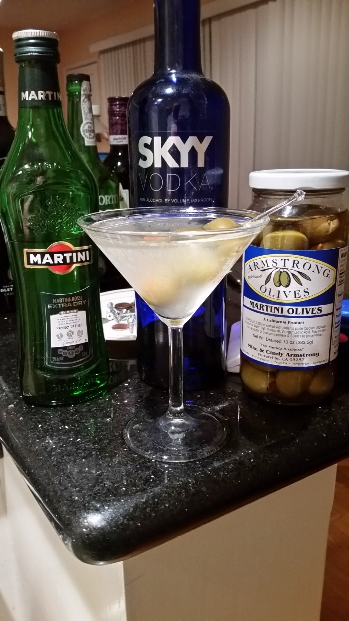 the Dirty Martini.