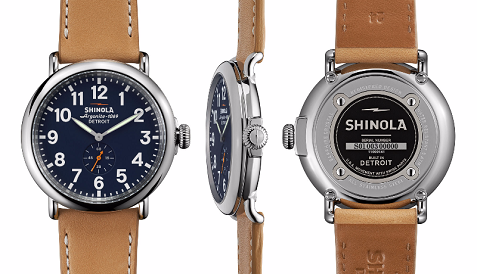 Shinola Blue Watch