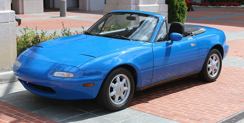 1989 Maxda Miata - blue