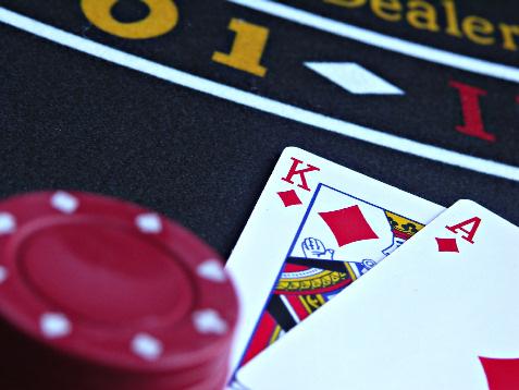 online casino blackjack blue heart