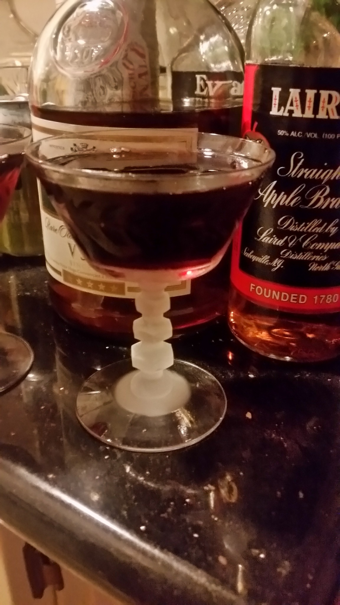 the Betsy Ross Cocktail.