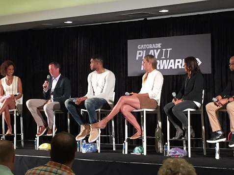 2016 Gatorade Play it Forward panel