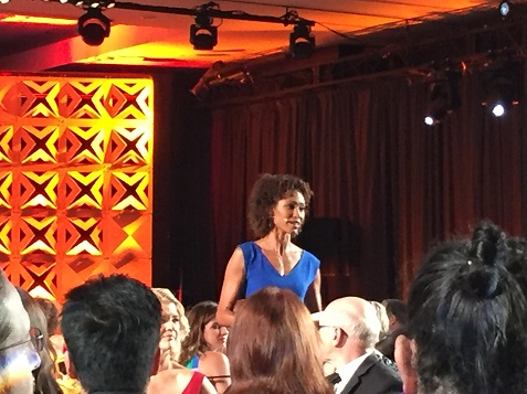 Sage Steele at  2016 Gatorade POY awards