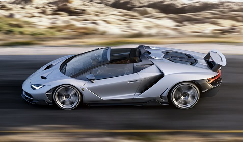 Lamborghini Centenario Roadster 2