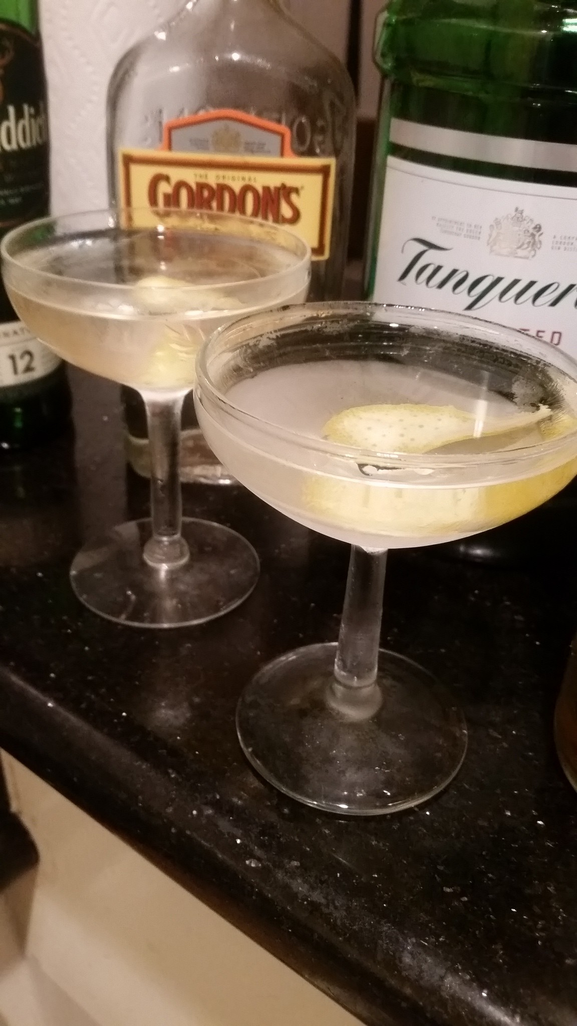 The Smokey Martini.