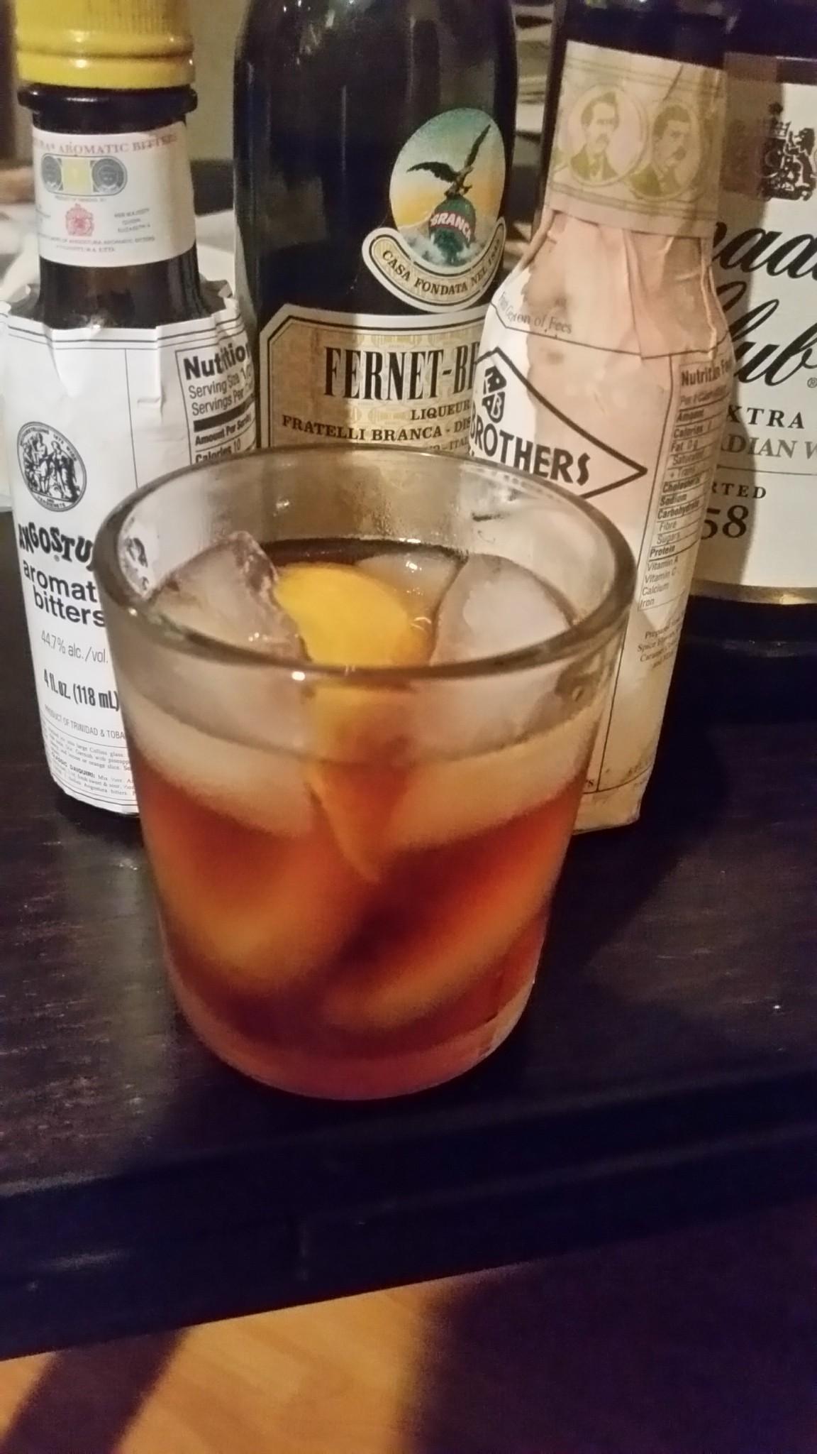 The Toronto Cocktail.